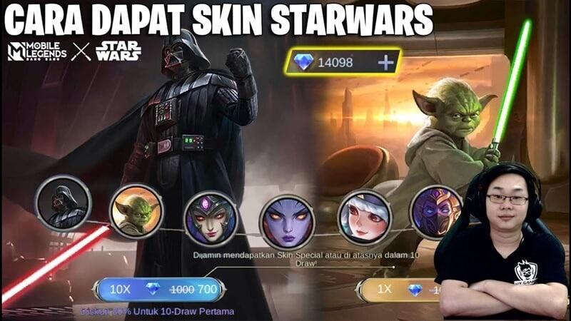 Event X Star Wars MLBB, Hadirkan Skin Dua Skin Istimea