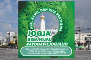 10 Link Download Twibbon Ayo Gawe Jogja Ijo, Gerakan Menuju Jogja Zona Hijau