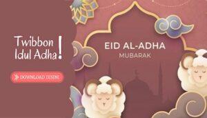 100 Link Twibbon Idul Adha 2021, Bingkai Ucapan Selamat Hari Raya Qurban 1442 H